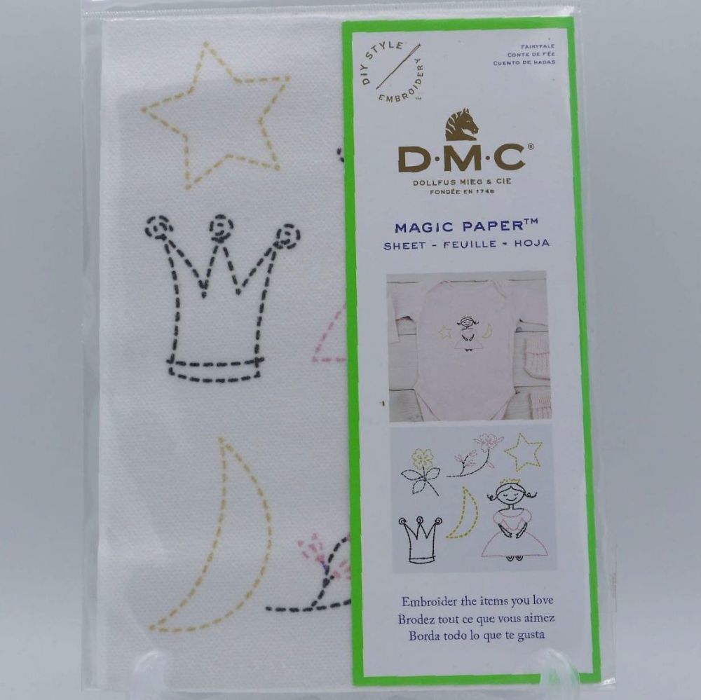 DMC MAGIC PAPER FOR BABY- 'FAIRYTALE'