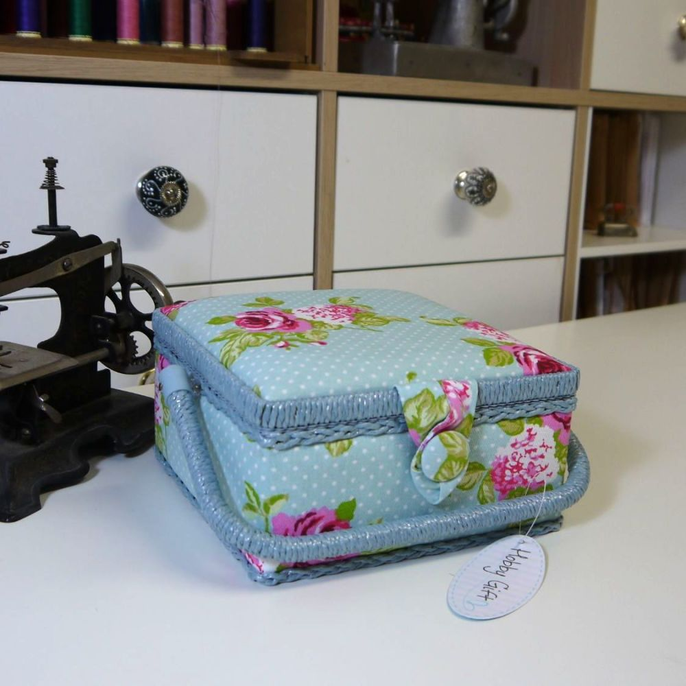 ROSE  SQUARE  SEWING BOX