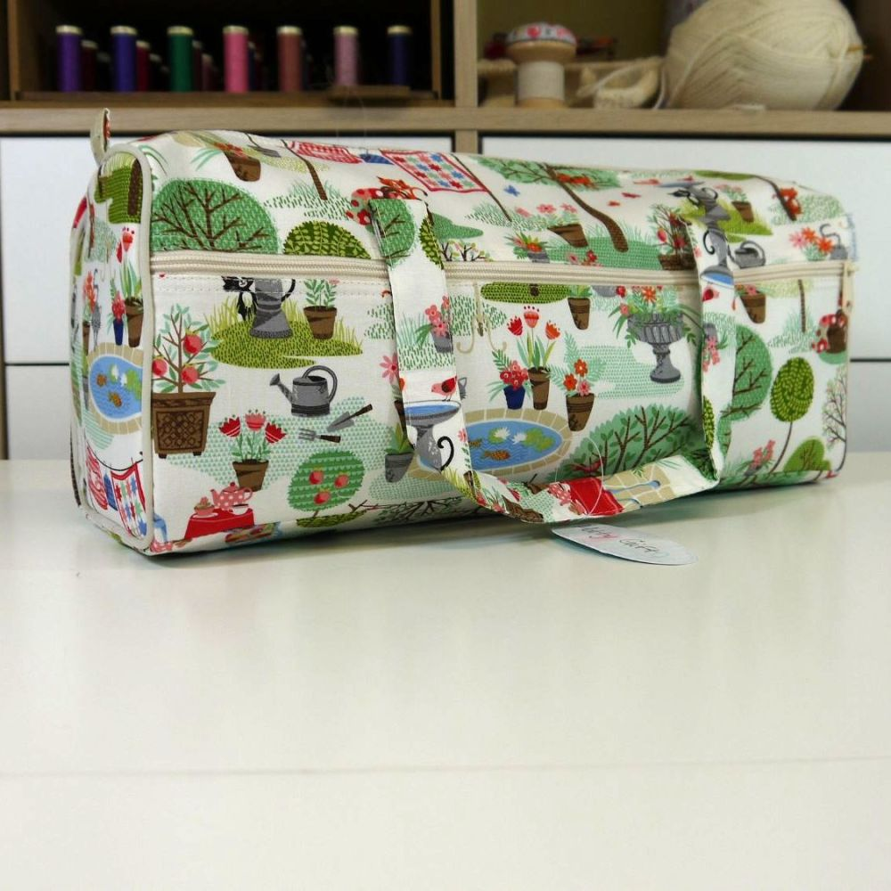 GARDEN THEMED BAG WITH SIDE POCKET
