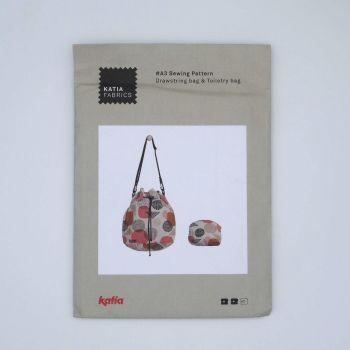 DRAWSTRING BAG AND TOILETRY BAG A3 BY KATIA