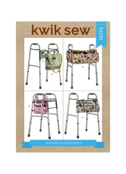 K4291-BAGS AND ACESSORIES FOR WALKERS , SEWING PATTERN