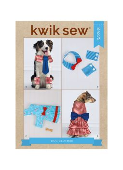 K4275 - PET OUTFITS, SEWING PATTERN