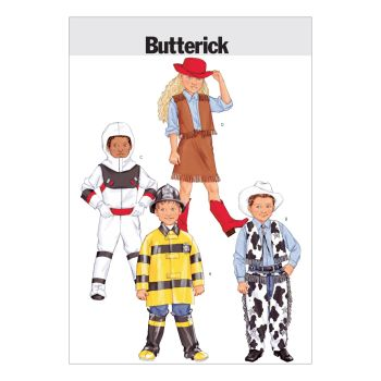 B -3244 CHILDRENS DRESS UP COSTUMES , SEWING PATTERN