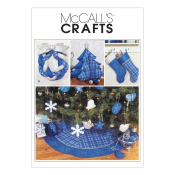 M3777- CHRISTMAS DECORATIONS SEWING PATTERNS