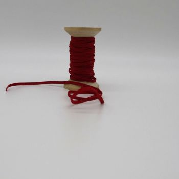 RED ELASTIC -5MM   WIDE