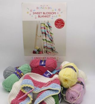 A YARN PACK FOR SWEET BLOSSOM BLANKET BY SIRDAR
