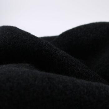 BLACK   COAT FABRIC, WINTER WEIGHT