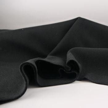 GLASGOW BLACK SOFT COAT FABRIC