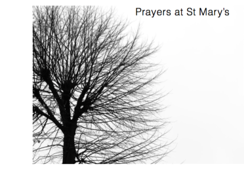 prayers at st marys front cover