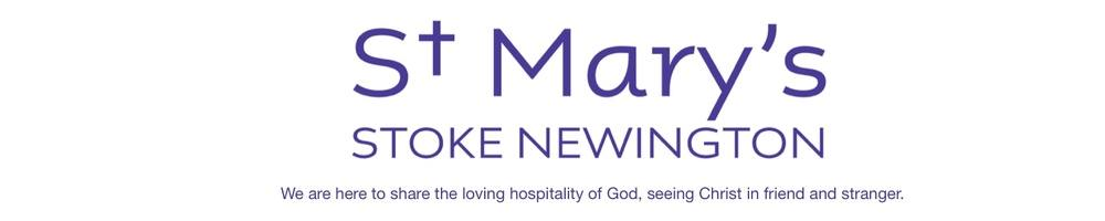 St Mary, Stoke Newington, site logo.