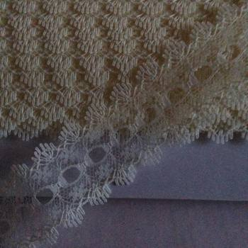 Eyelet Lace - ALL Cream - Per Metre
