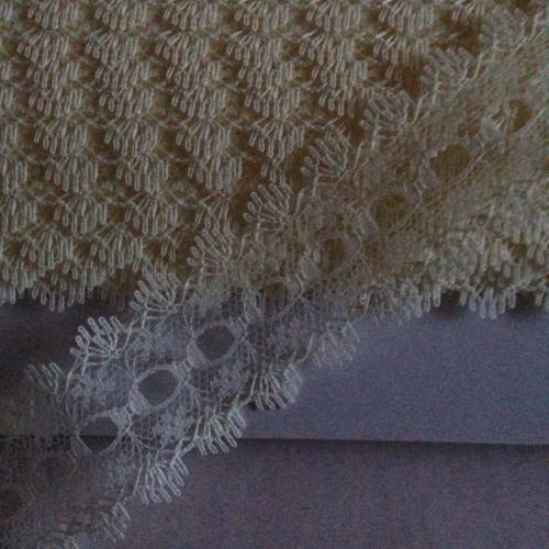 Eyelet Lace - ALL Cream (per metre)