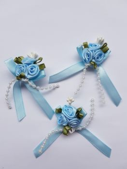 Blue Rose Cluster (Pack of 3)