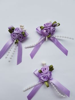 Lilac Rose Cluster (each)