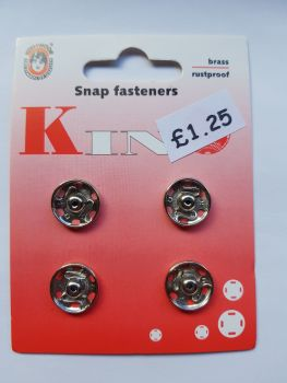 Snap Fasteners 13mm