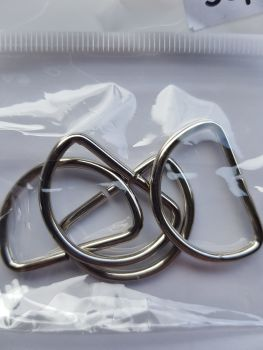 D Rings 25mm (Pack of 4)