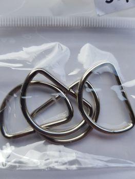 D Rings 25mm (Pack of 8)