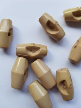 Beige Toggles 19mm (each)