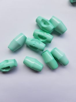 Mint Green Toggle 19mm (each)