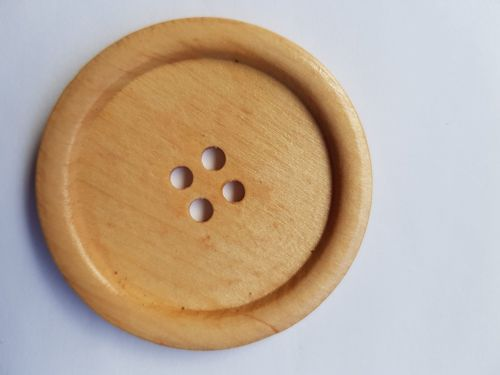 Large Wooden Button 50mm (each)