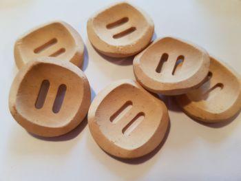 Wooden Button 25mm (each)