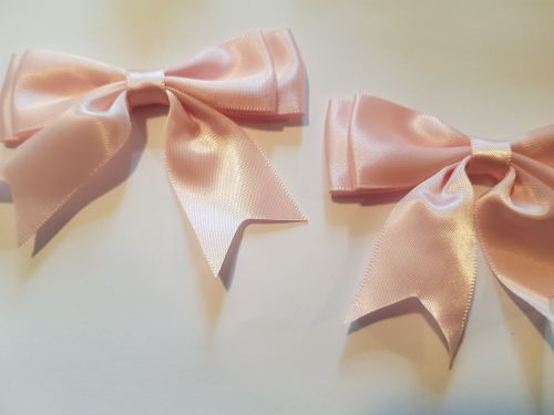 Pink Bow 80mm (each)