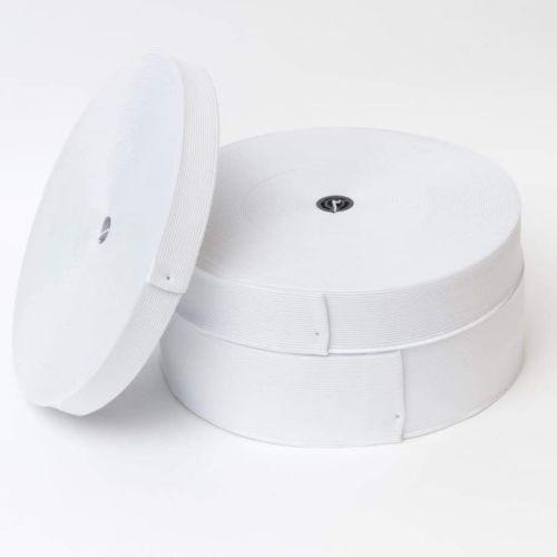 White Elastic 50mm (1.5 metres)