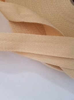 Beige/Aran Webbing 25mm (per metre) Suitable for Apron Straps
