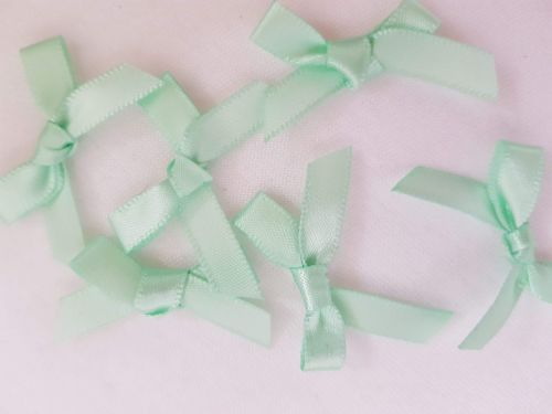Mint Green Bow (pack of 15)