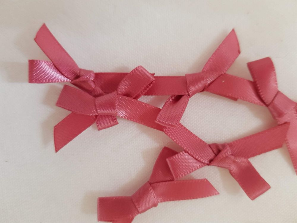 Dusky Pink Bow (Pack of 15)