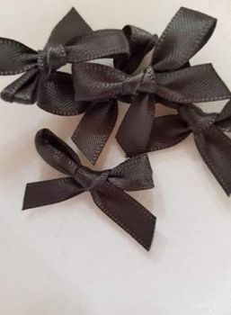 Grey Bow (Pack of 15)