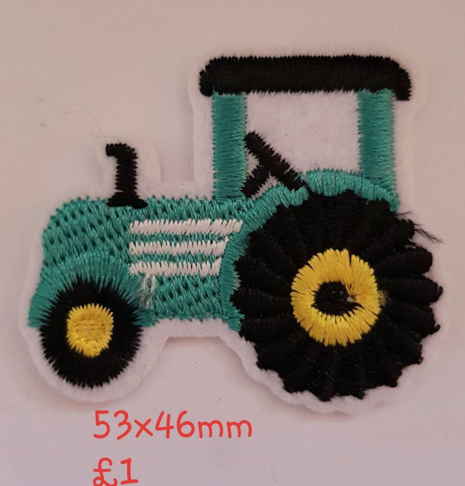 Tractor Motif  - Green