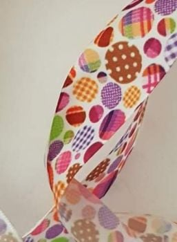 Dot Ribbon 25mm (per metre)