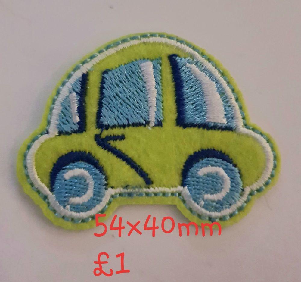 Car Motif - Green