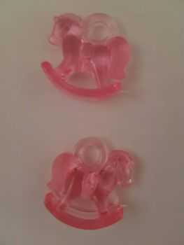 Pink Rocking Horse (Pack of 2)
