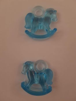 Blue Rocking Horse (Pack of 2)
