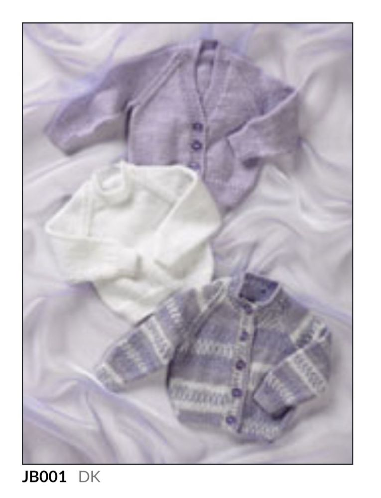 Childrens Knitting Pattern Cardigan JB001