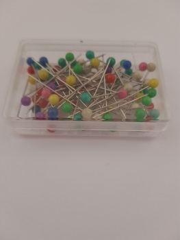 Pin Box  ( approx 80 pins )