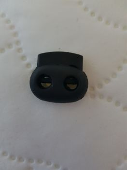 Black Cord Lock / Toggle 230x190mm (each)