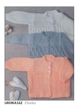Childrens Knitting Pattern Cardigan UKHKA162