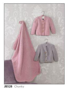 Childrens Knitting Pattern Cardigan JB528