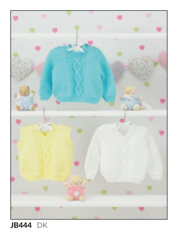 Childrens Knitting Pattern Jumper JB444