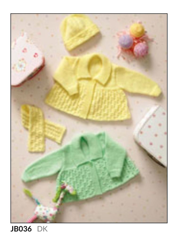 Childrens Knitting Pattern Cardigan JB036