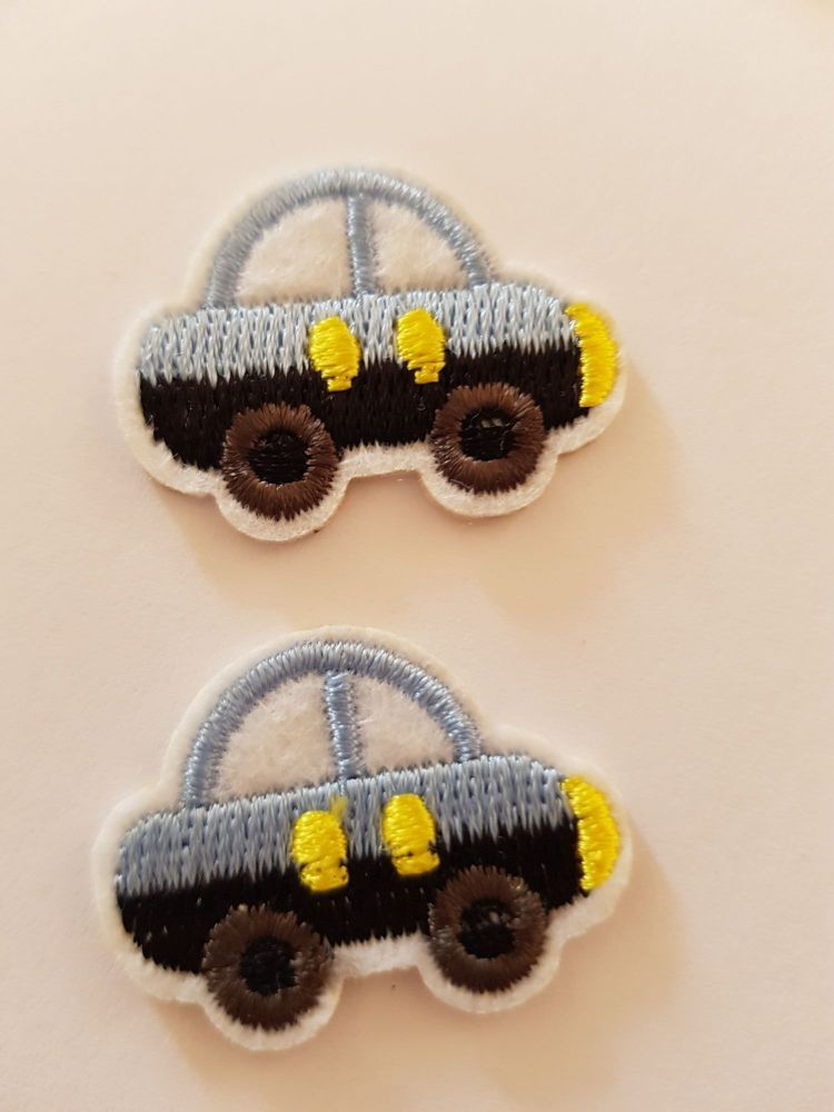 Car Motif - Blue (2 pack)