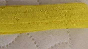 Yellow Cotton Bias Binding 16mm  (4 metres)