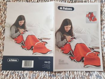 Children's  Knitting Pattern Kai Fish Tail and Toy P5350