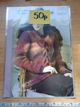 Ladies Knitting Pattern Jumper P3654