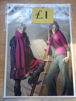 Ladies Knitting Pattern Dress, Jacket, Scarf P3797