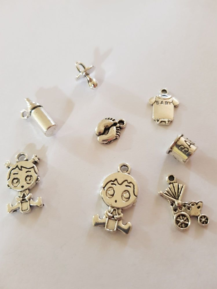 Baby Charms (Pack of 8) CH15