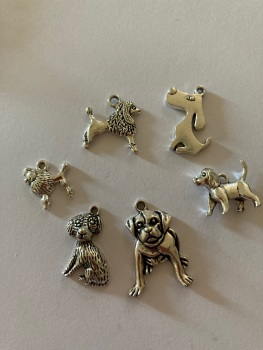 Dog Charms (Pack of 6) CH20